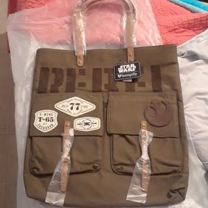 NWT Loungefly Star Wars Rebel Forces satchel